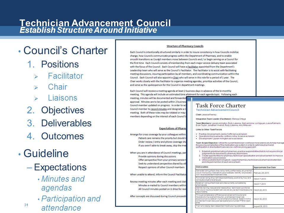 Technician Advancement Council