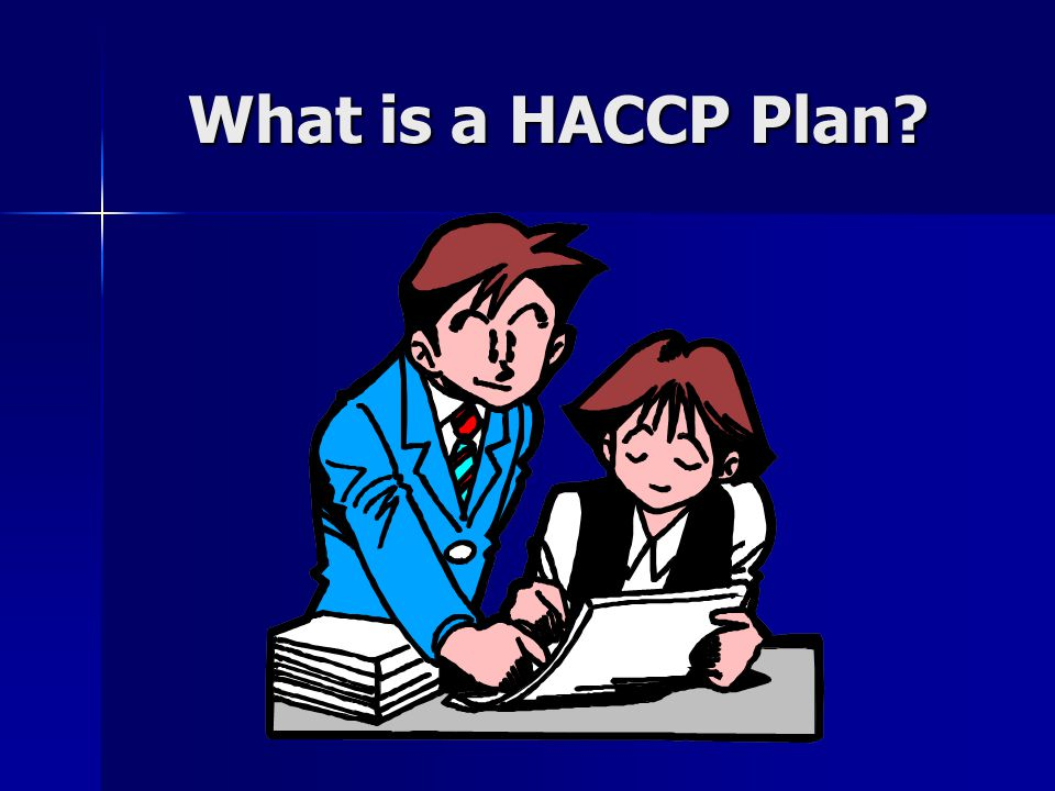 What is a HACCP Plan