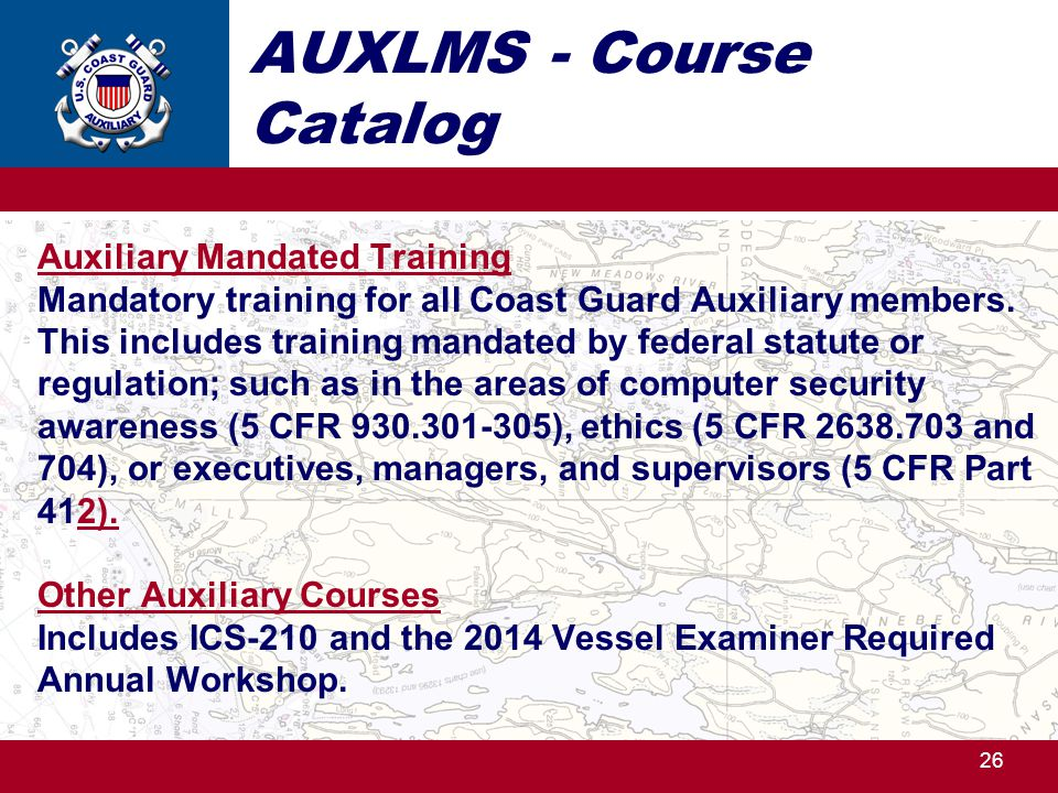 AUXLMS - Course Catalog