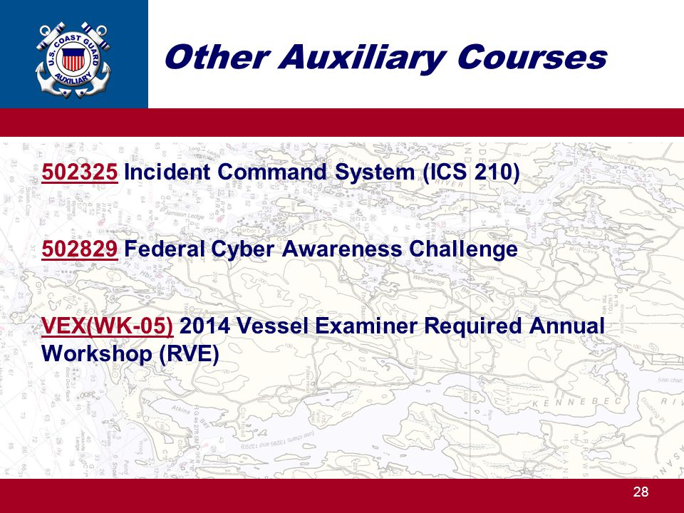 Other Auxiliary Courses
