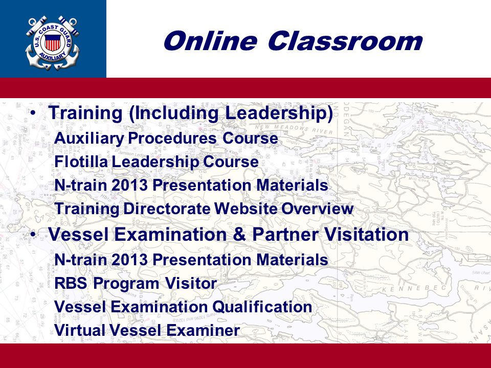 Online Classroom Training (Including Leadership)