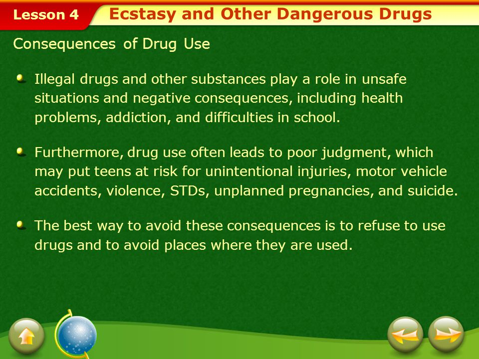 Ecstasy and Other Dangerous Drugs
