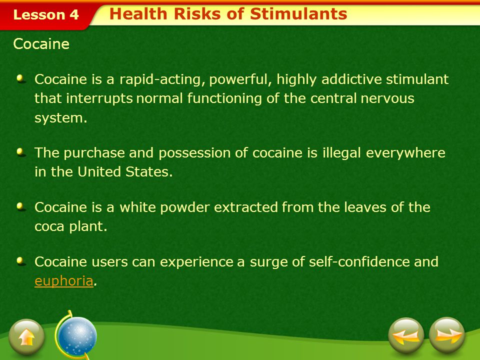 Health Risks of Stimulants