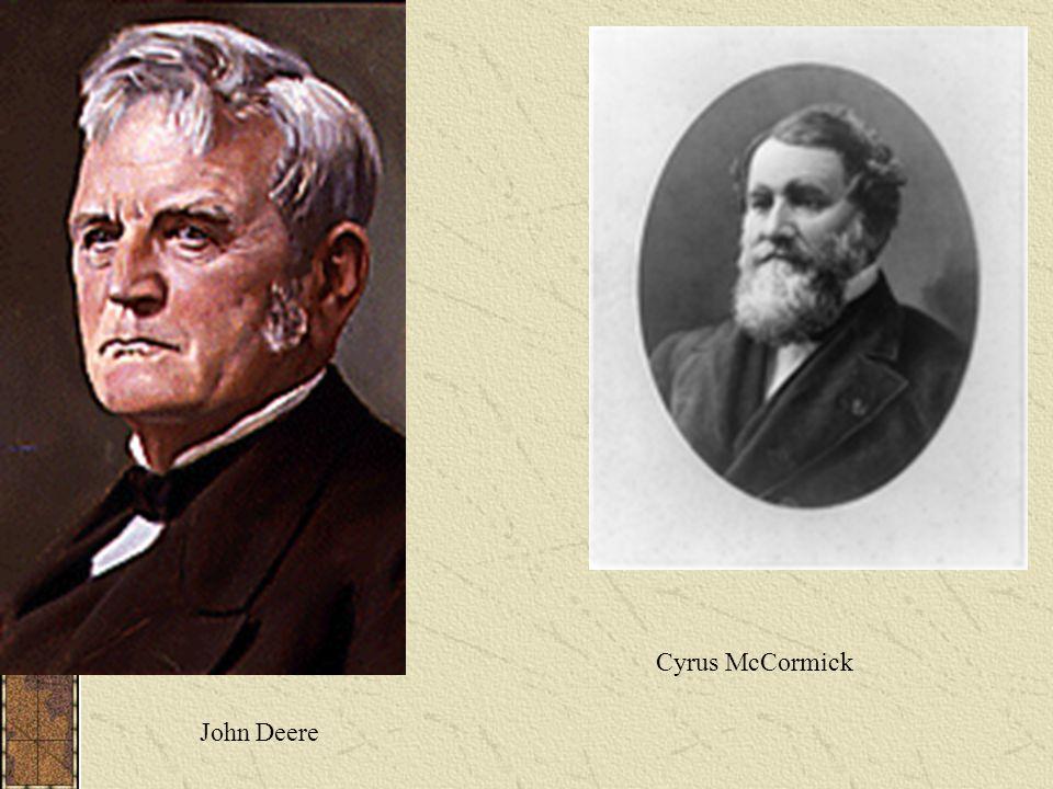 Cyrus McCormick John Deere
