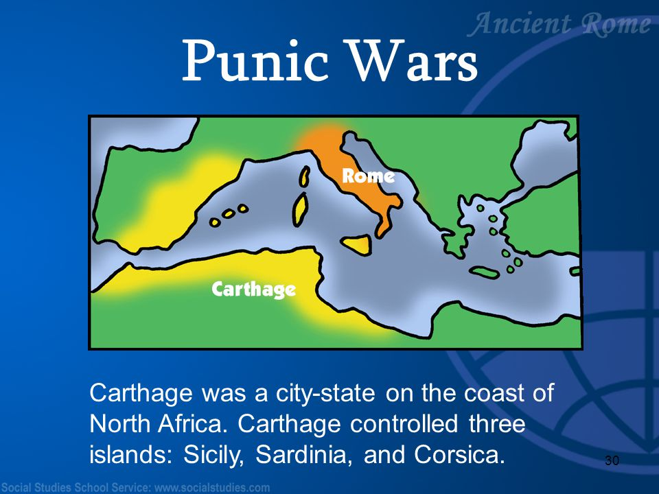 Punic Wars Teacher Notes: