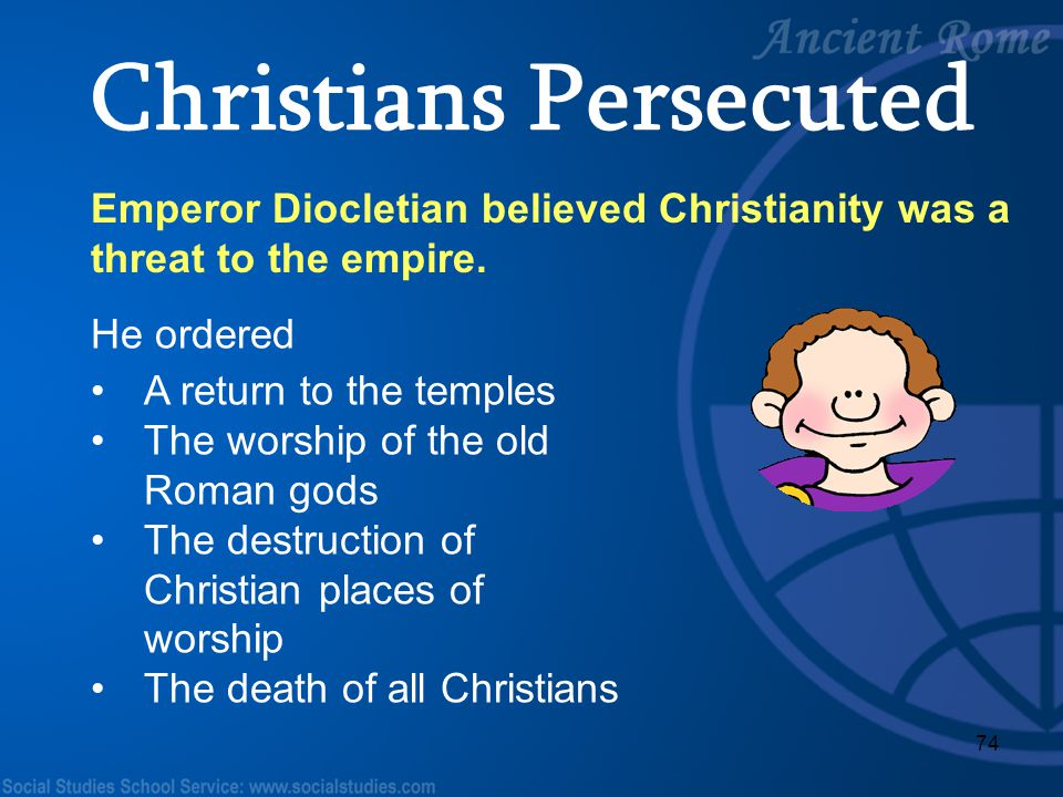 Christians Persecuted