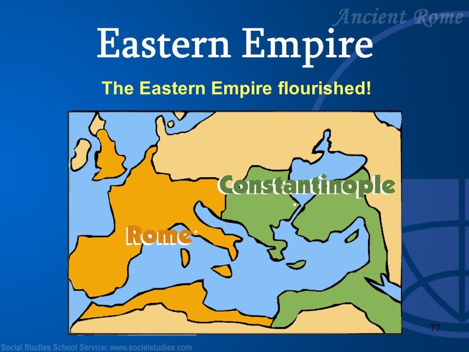 The Eastern Empire flourished!