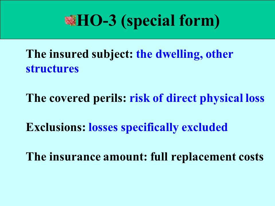 HO-3 (special form)