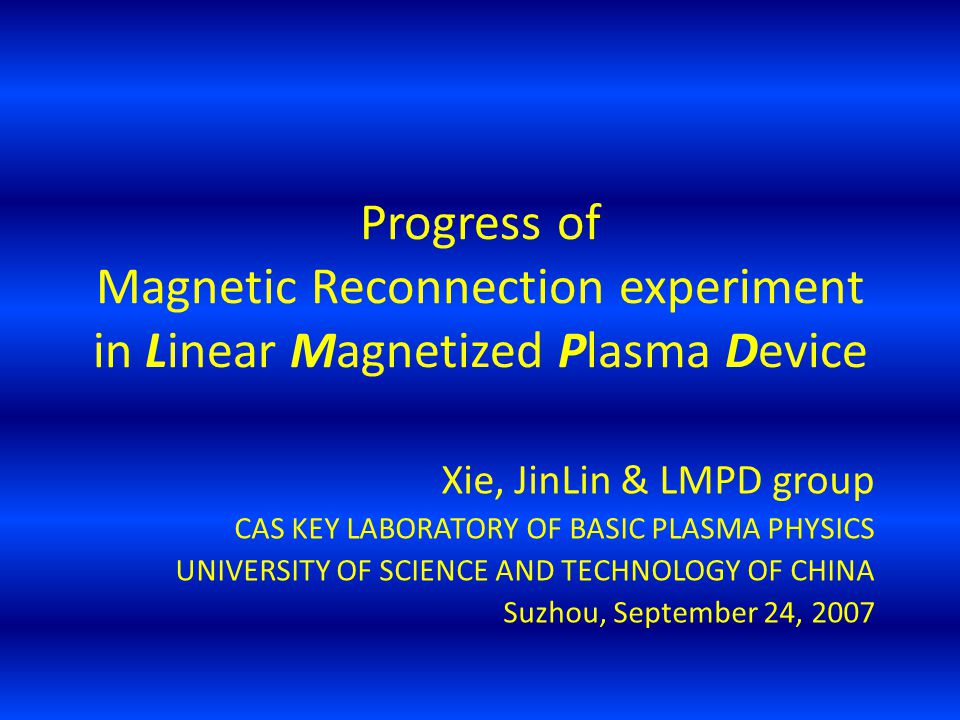 Progress of Magnetic Reconnection experiment in Linear Magnetized Plasma Device