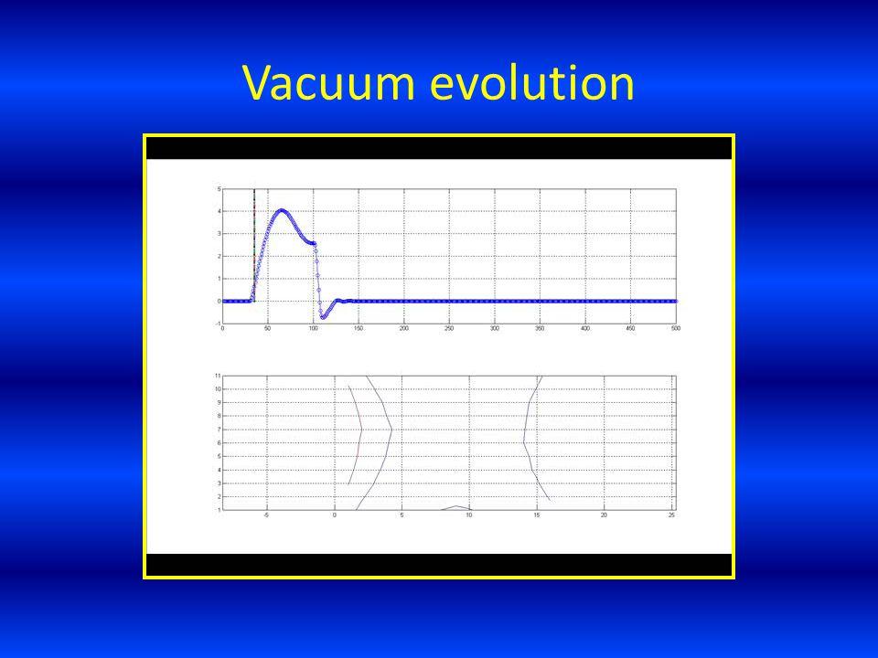 Vacuum evolution