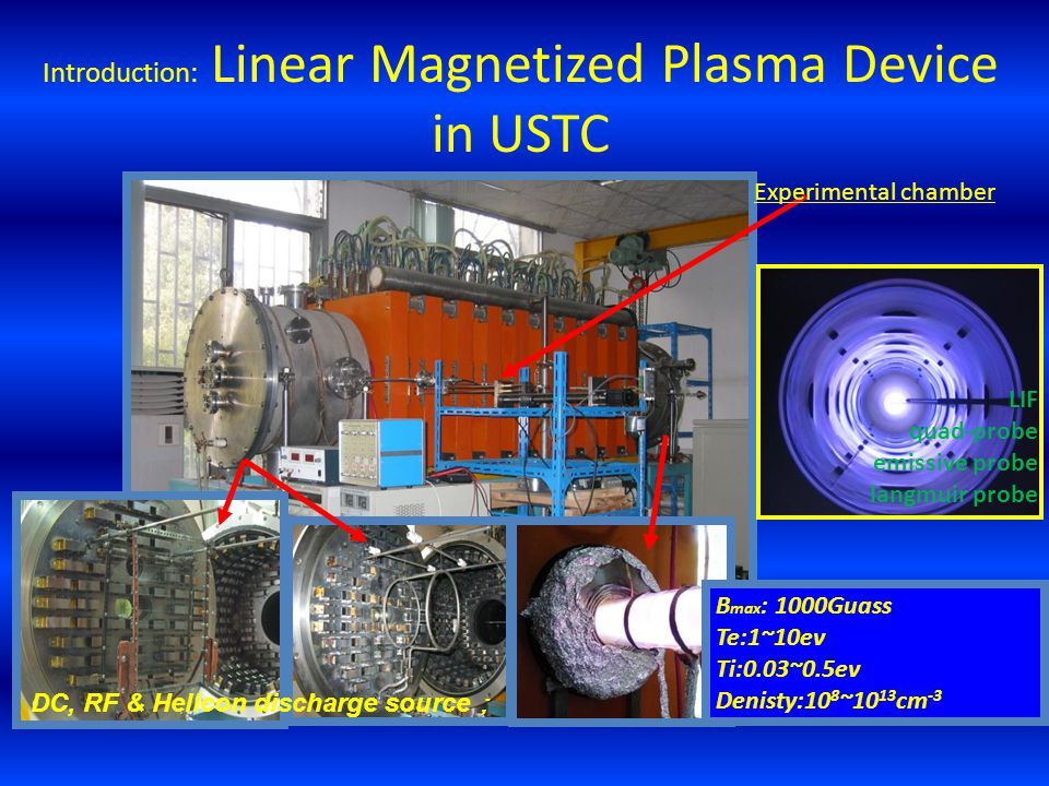 Introduction: Linear Magnetized Plasma Device in USTC