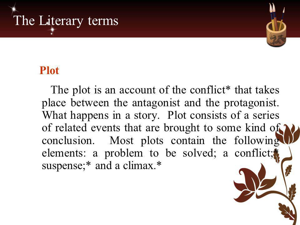 The Literary terms Plot