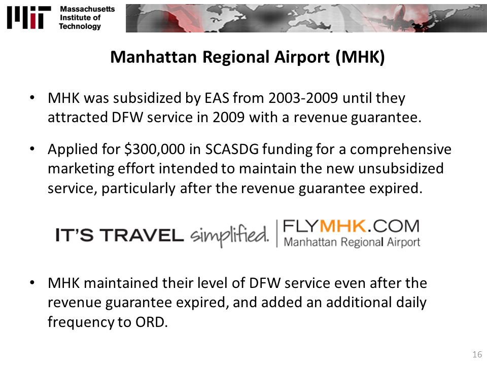 Manhattan Regional Airport (MHK)