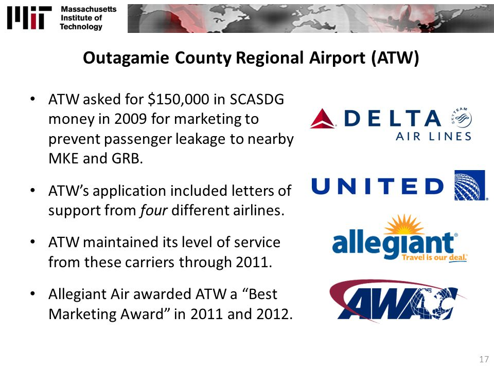 Outagamie County Regional Airport (ATW)
