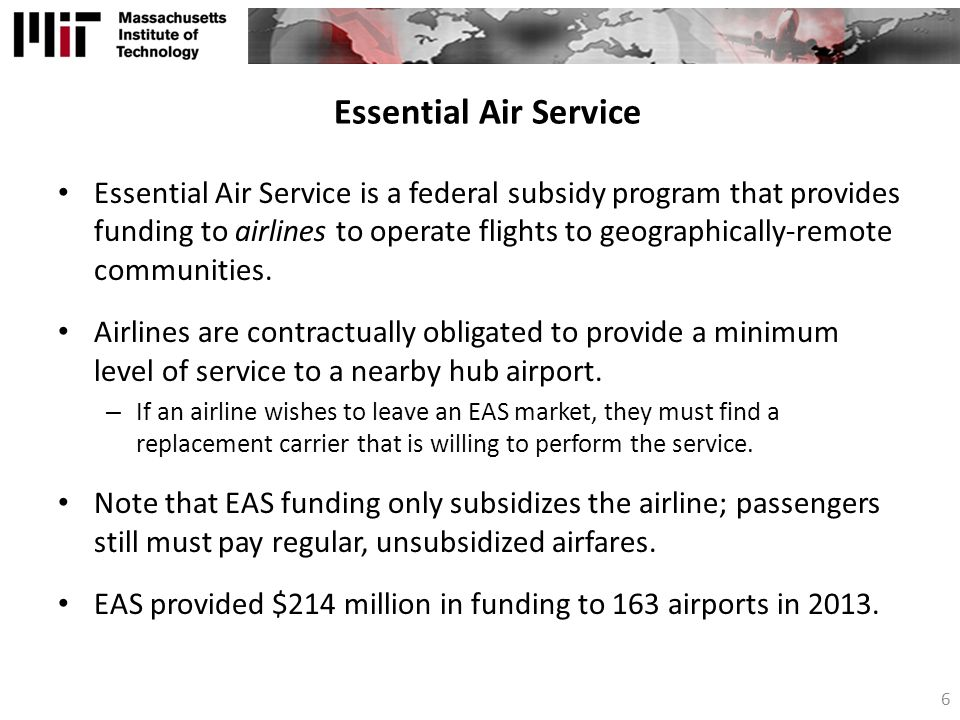 Essential Air Service