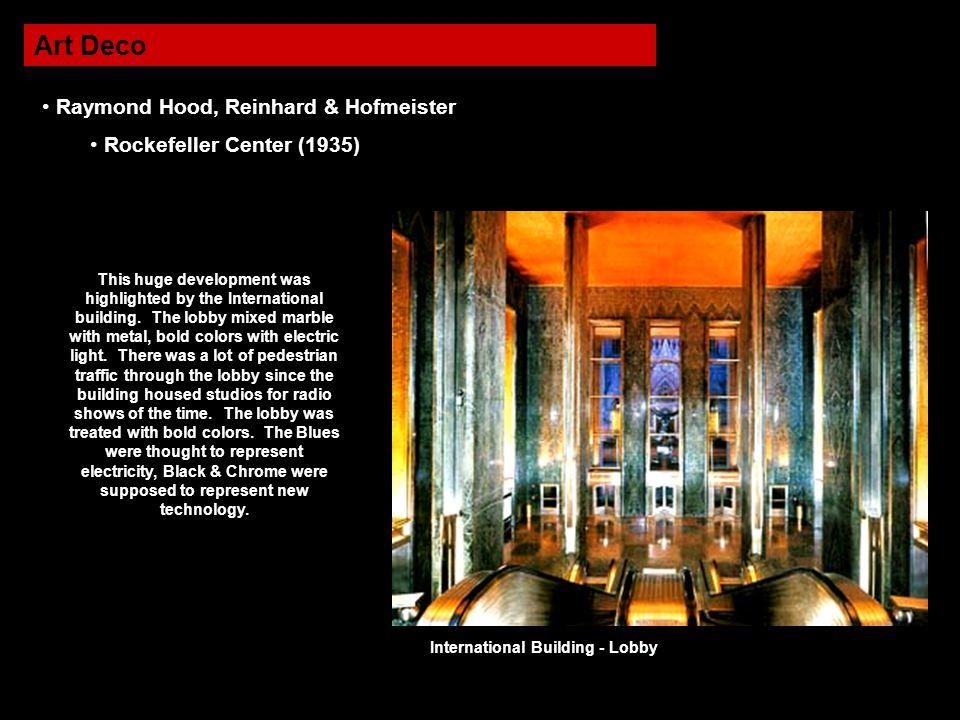 International Building - Lobby