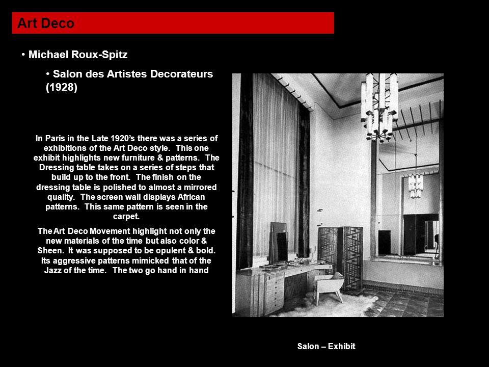 Art Deco Michael Roux-Spitz Salon des Artistes Decorateurs (1928)
