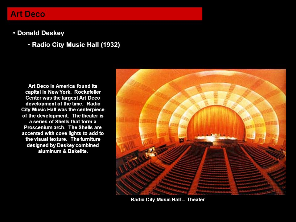 Radio City Music Hall – Theater
