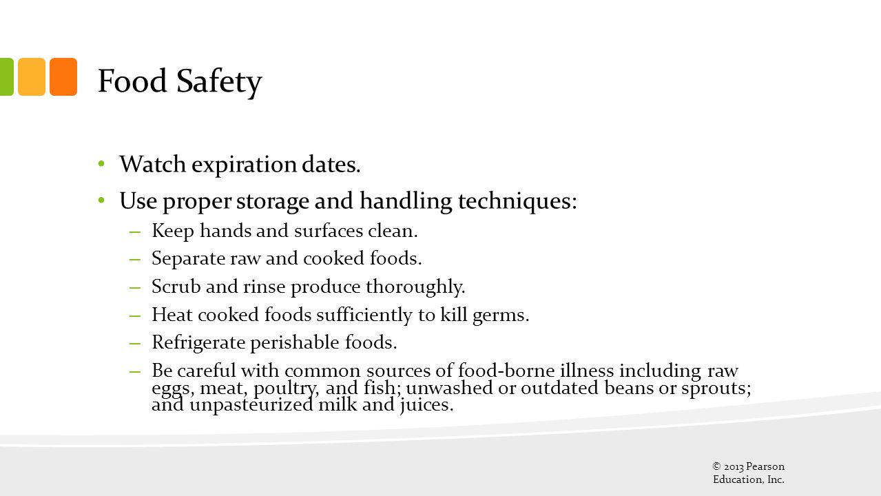 Food Safety Watch expiration dates.