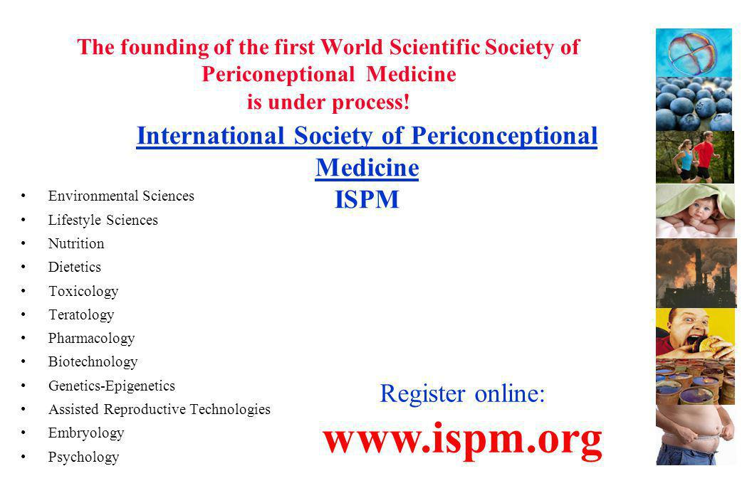 International Society of Periconceptional Medicine