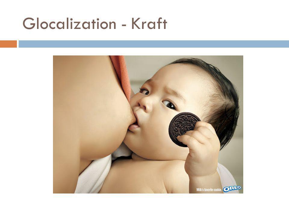 Glocalization - Kraft