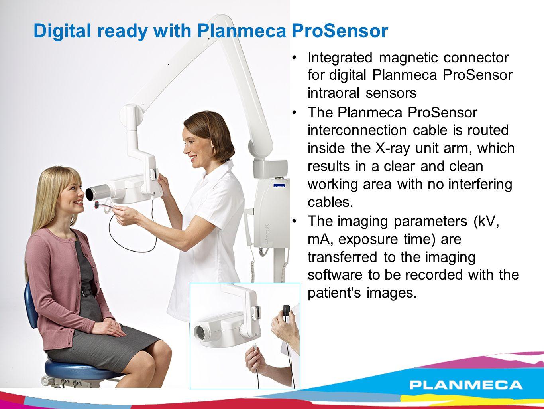 Digital ready with Planmeca ProSensor