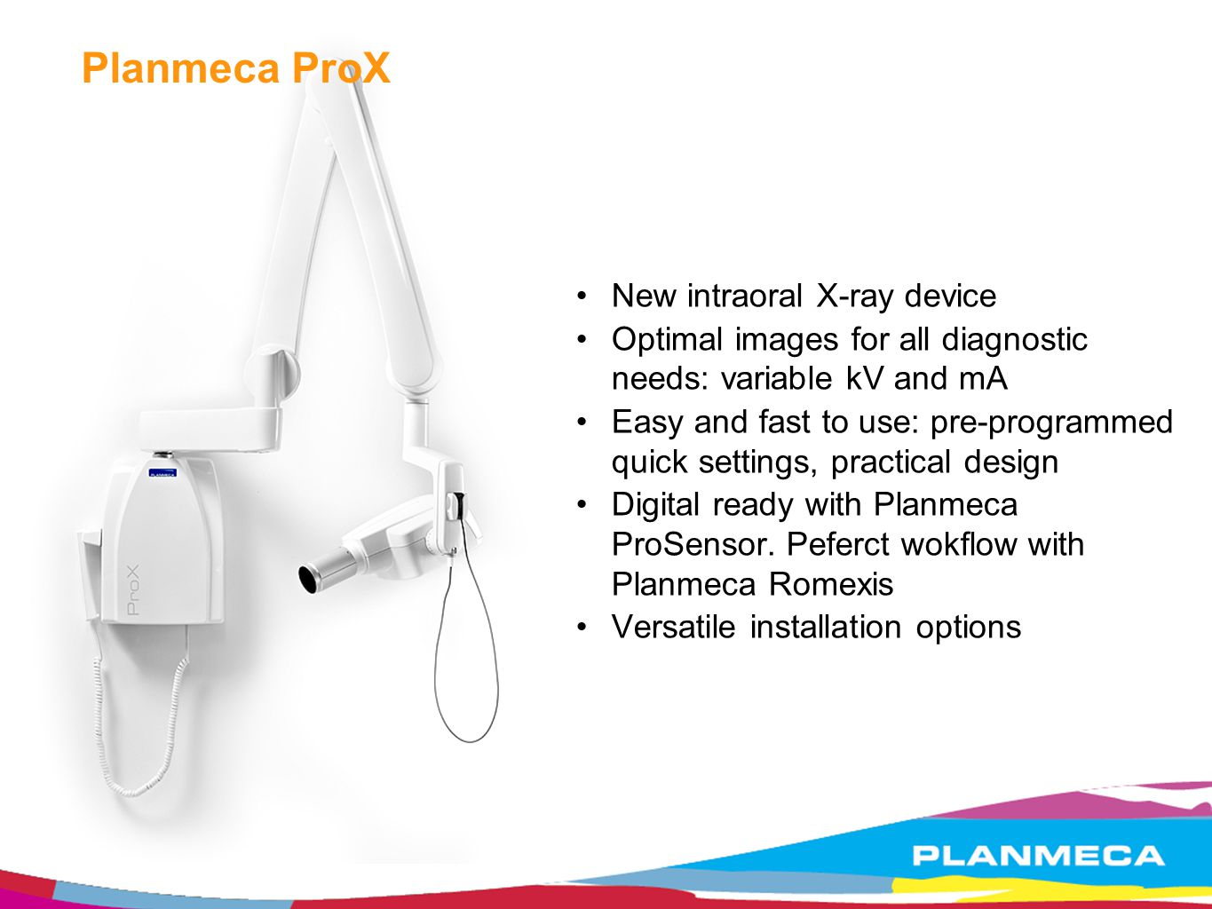 Planmeca ProX New intraoral X-ray device