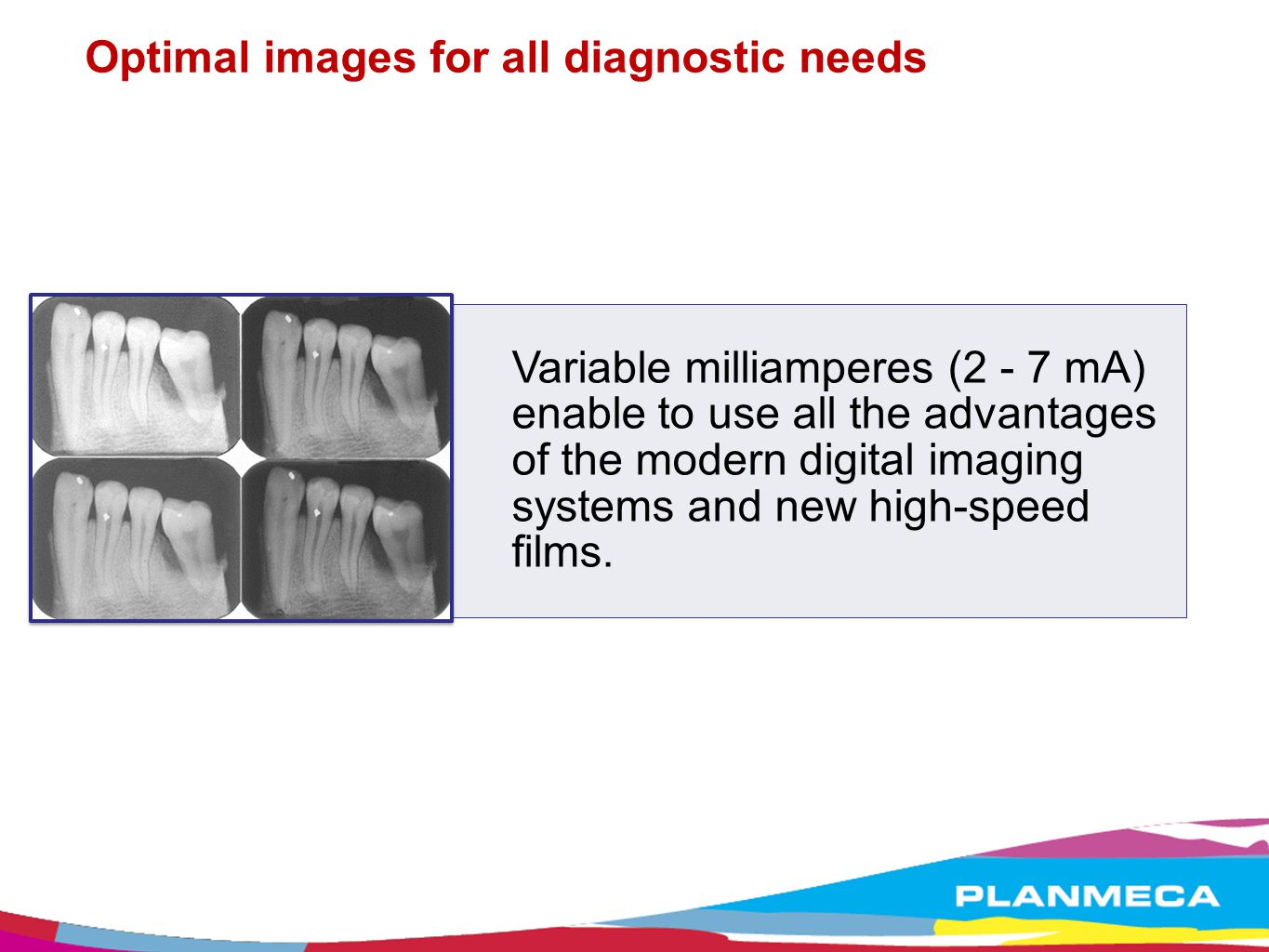 Optimal images for all diagnostic needs