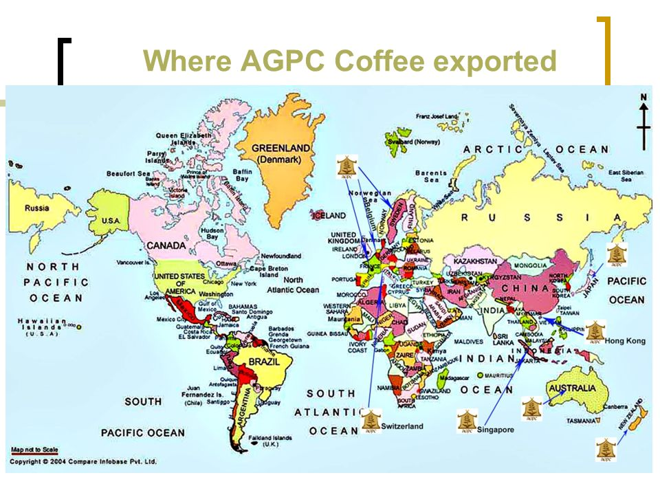 Where AGPC Coffee exported