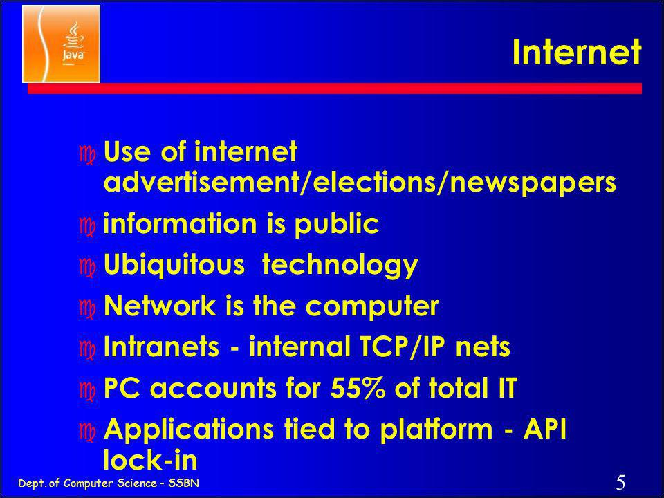 Internet Use of internet advertisement/elections/newspapers