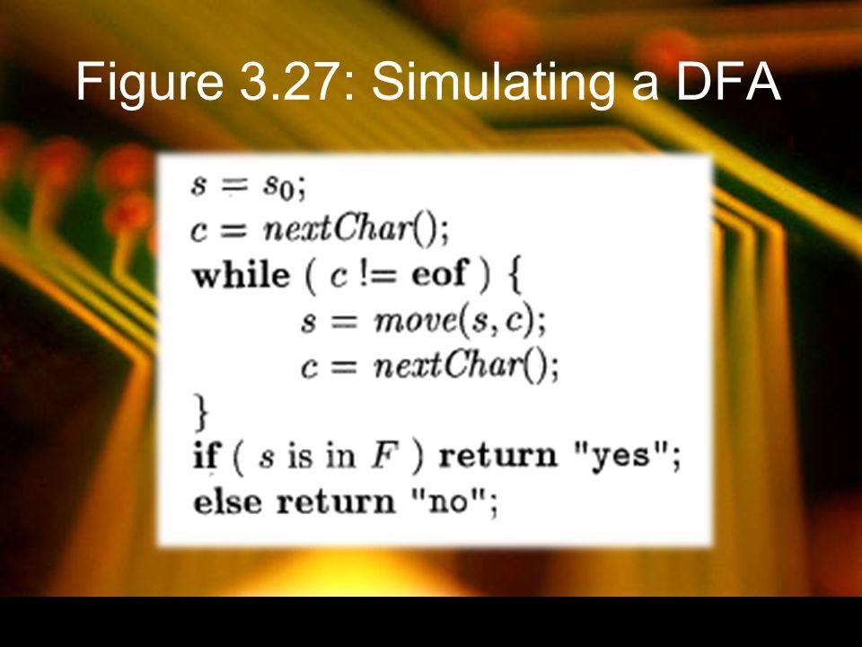 Figure 3.27: Simulating a DFA