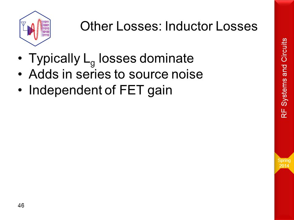 Other Losses: Inductor Losses