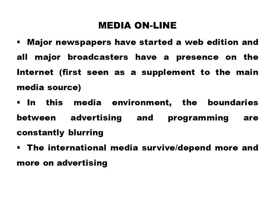 Media on-line