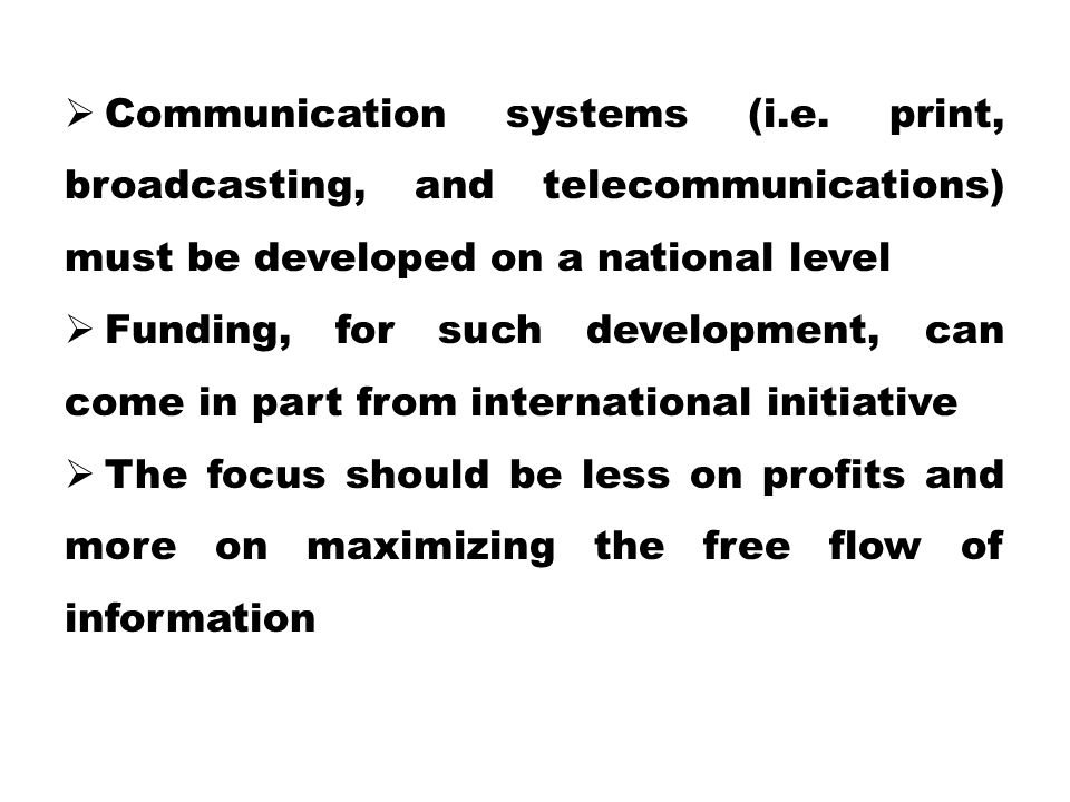 Communication systems (i. e