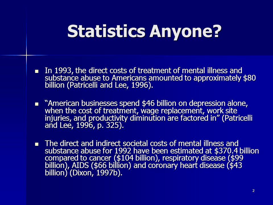 Statistics Anyone