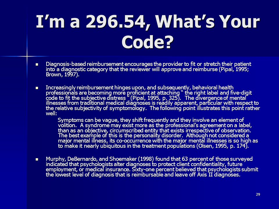 I'm a 296.54, What's Your Code