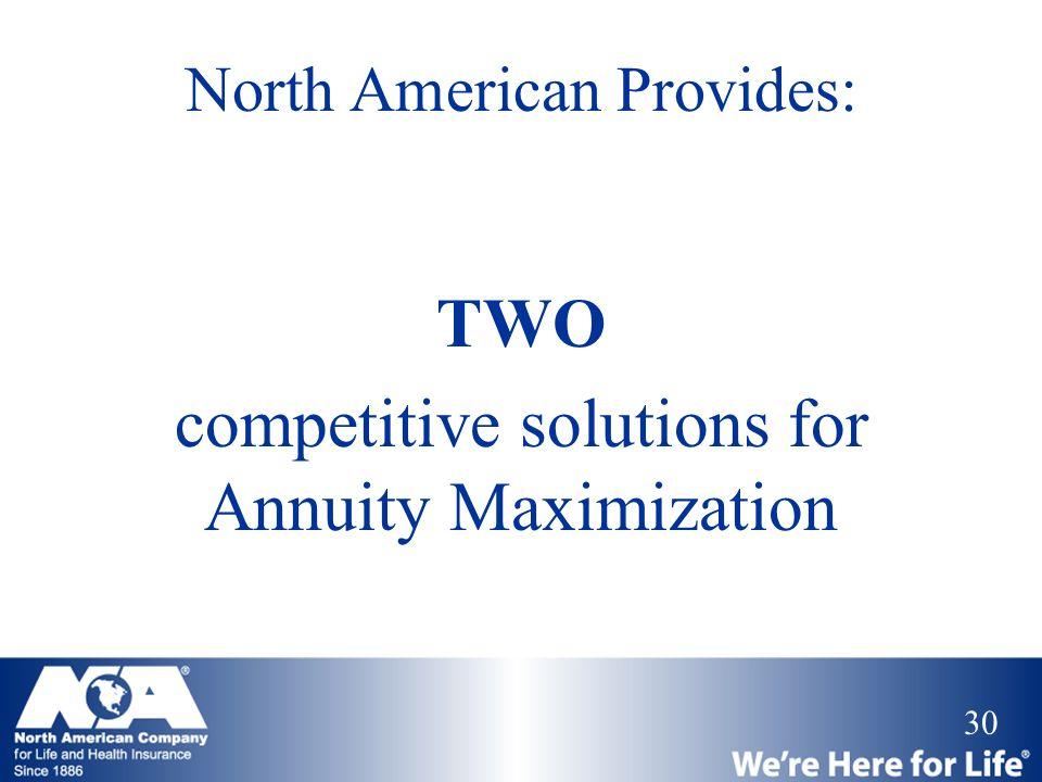 North American Provides: