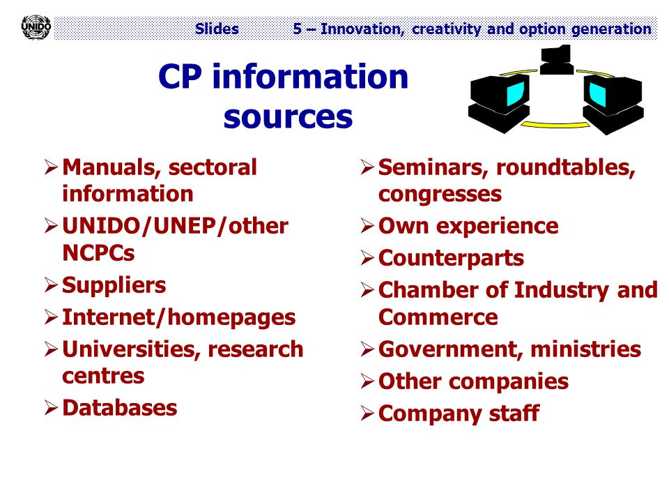 CP information sources