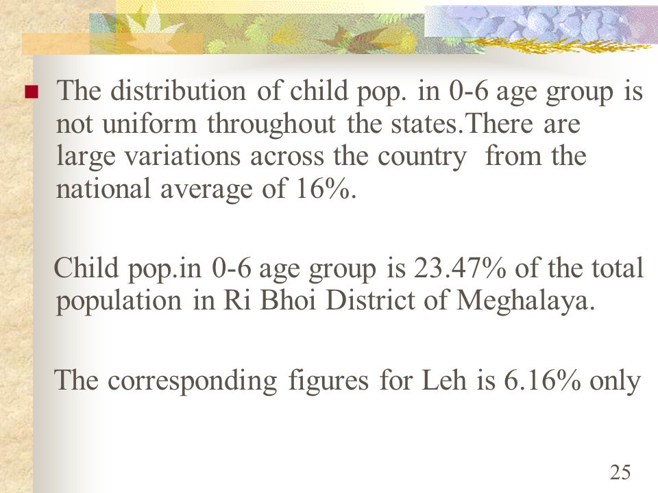 The corresponding figures for Leh is 6.16% only