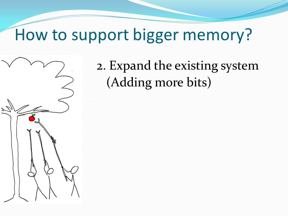 How to support bigger memory