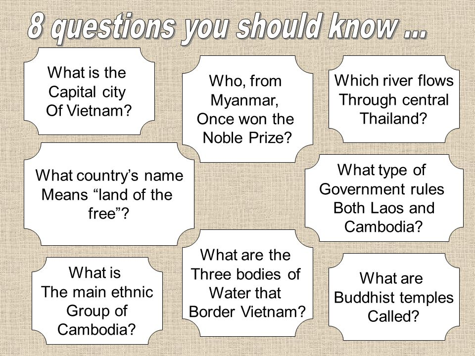 8 questions you should know ...