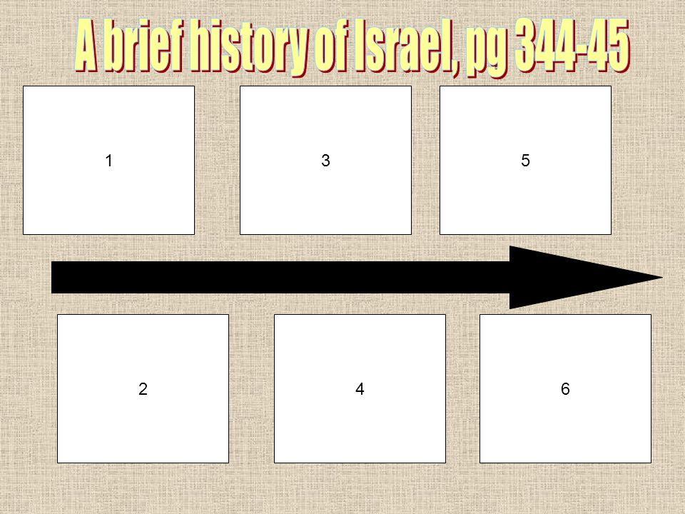 A brief history of Israel, pg