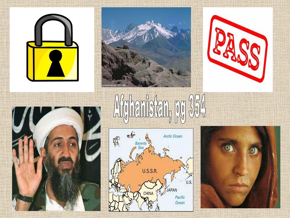 Afghanistan, pg 354