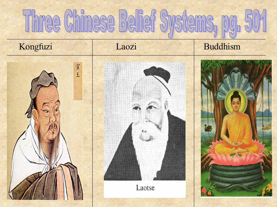 Three Chinese Belief Systems, pg. 501