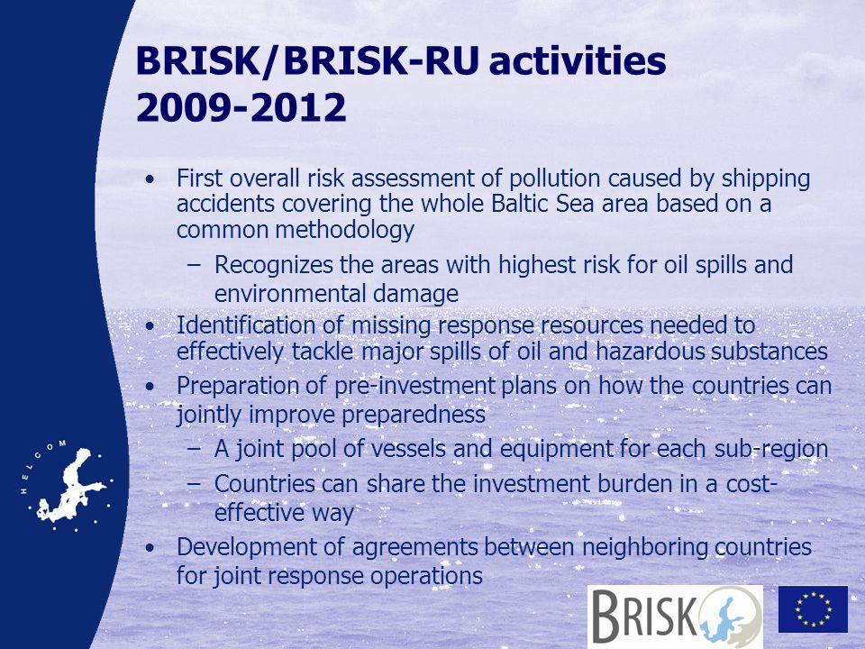 BRISK/BRISK-RU activities 2009-2012