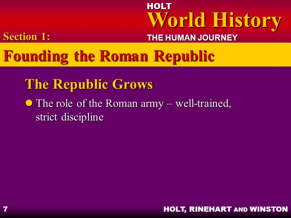 Founding the Roman Republic