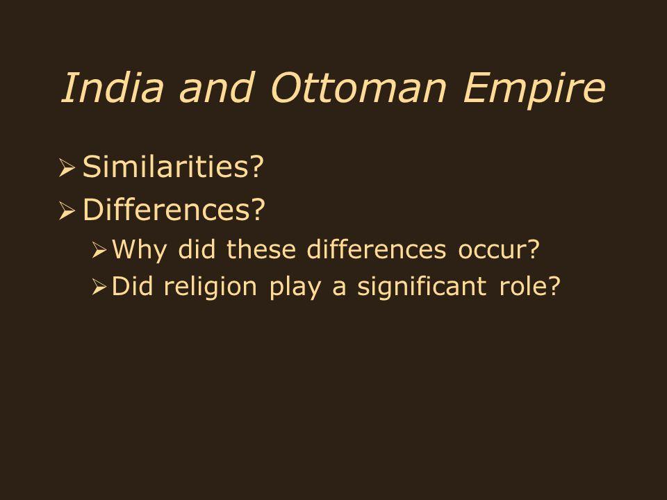 India and Ottoman Empire