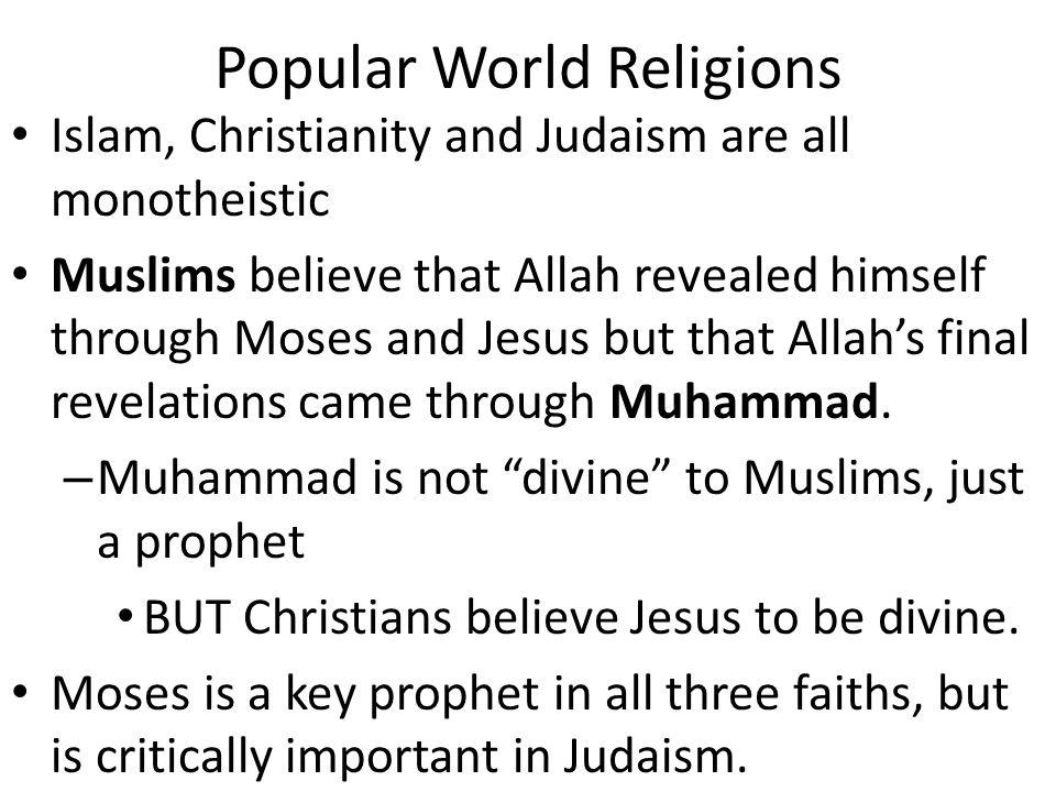 Popular World Religions
