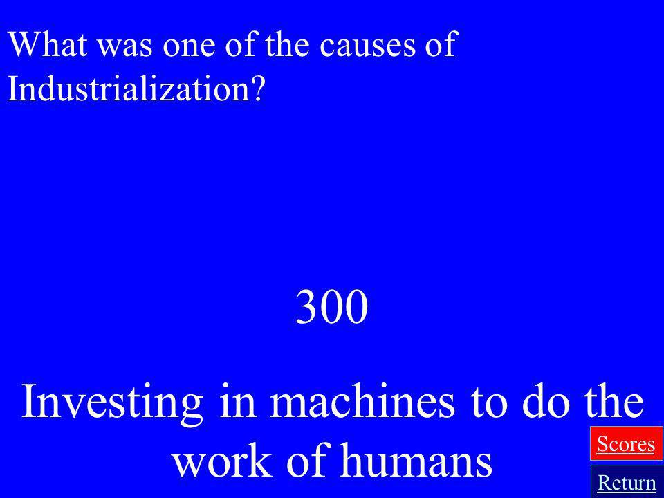 Investing in machines to do the work of humans