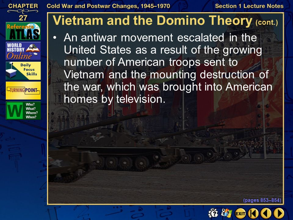 Vietnam and the Domino Theory (cont.)